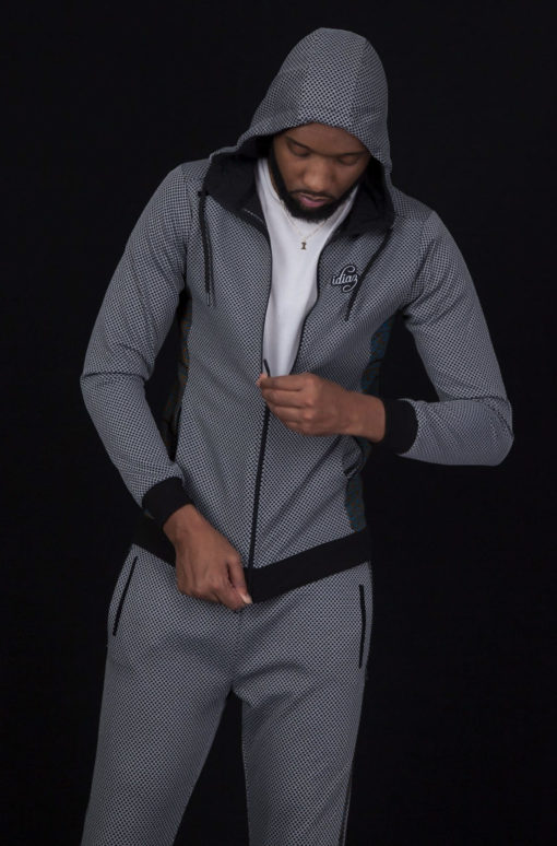 Photos Survetement wax gris sportswear