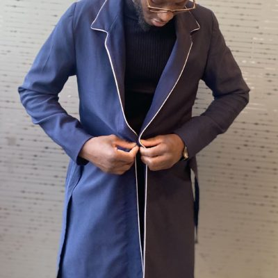 Illustration Trench-coat liseré 1